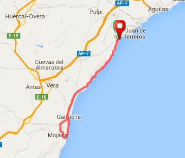 61 km - Mojácar