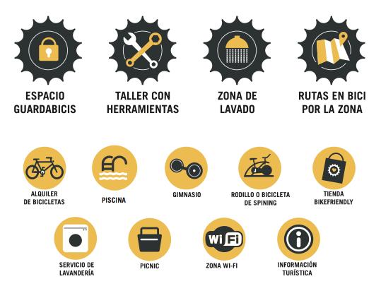 servicios para ciclistas